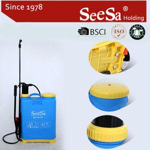 16L Agrícola Mochila Manual de Plástico Pulverizador de presión (SX-LC16-1)