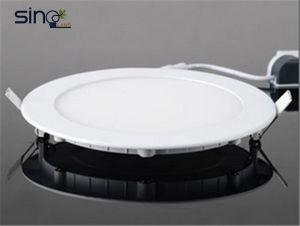 LED haute luminosité lampe 12W à écran plat avec Ra>80, 80lm/W