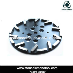 250mm Diamond Segments Concrete Tools Metal Grinding Plate