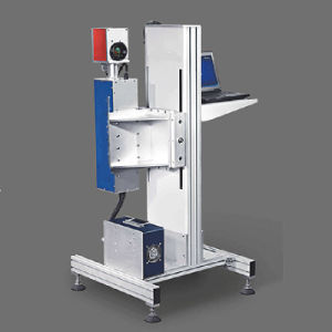Les accessoires électroniques Flying machine de marquage au laser pour non métalliques