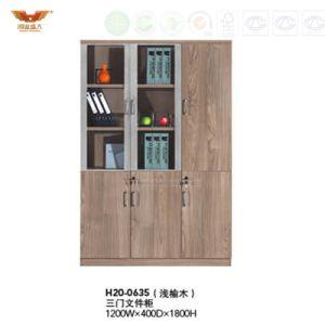 商業メラミンオフィスの収納キャビネットモジュラーファイル本箱(H20-0634)