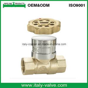 Válvula de bola de latón forjado con cerradura (AV10059)