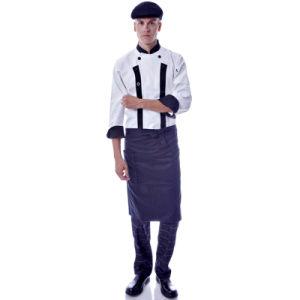 Chaqueta de chef chef de cocina de algod n restaurante bar for Uniformes de cocina precios