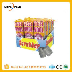 La laine en acier inoxydable de tampons à récurer