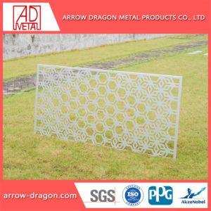 Baumaterial-perforiertes Aluminiumpanel für Fassade-Dekoration