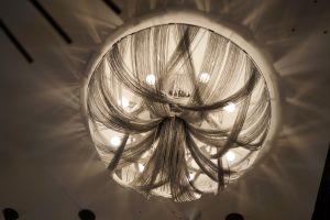 Lustre a lâmpada de teto de alumínio (KA1103)