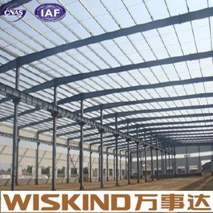Industrial de la luz de la construcción de prefabricados de estructura de acero con bajo precio