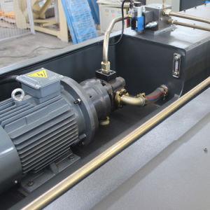 Guillotina Hidráulica del CNC, Máquina Que Pela Hidráulica del Metal de Hoja, Máquina Que Pela de la Placa, Cortadora del CNC