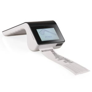 Doppeltouch Screen Point of Sale Positions-Terminal NFC EMV mit Android 5.1 und Bluetooth Thermodrucker-Scanner PT7003
