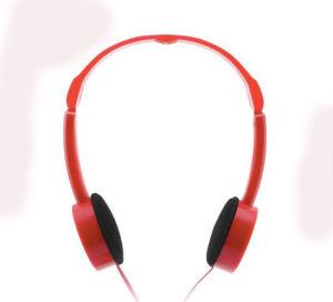 85dB Lightable, das auf Ohr sich faltet, scherzt Kopfhörer-Rot