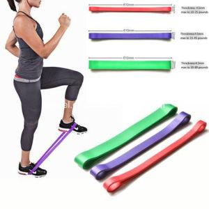 Bandas de resistência com saco de viagem Bandas de loop de tensão para exercer, viagens, Home, Yoga, Crossfit