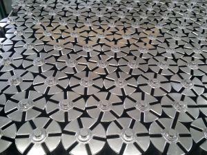 工場供給の高精度の珪華の油ポンプは鉄内部ギヤ回転子を分ける