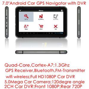 Banheira de 7.0 do sistema de navegação GPS veicular potável com um braço Wince7 800MHz