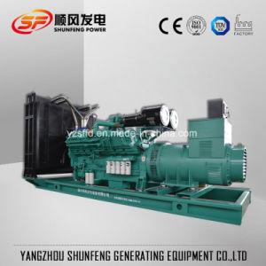75kVA 60kw elektrischer Strom-Dieselgenerator mit echtem Cummins Engine