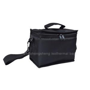Petit déjeuner de la nourriture chaude transporter un sac pour six canettes de refroidisseur