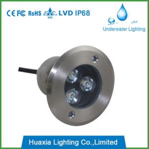 304 Edelstahl LED begrub Tiefbaulicht vertiefte Inground Lampe