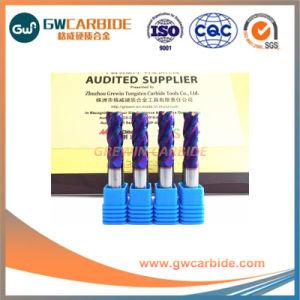 Alta calidad de HRC45~HRC60 Carbide molinos de extremo plano