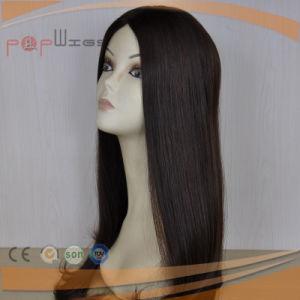 完全なバージンの毛の絹の上のユダヤ人のかつら(PPG-l-01548)