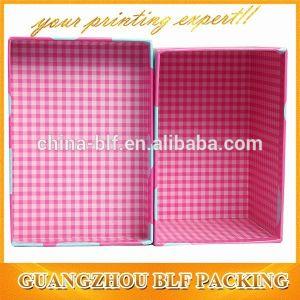 Scatola di cartone dolce del bambino bianco spesso (BLF-GB525)