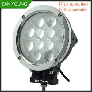 LED de alta potencia al por mayor de 60 vatios de luz de trabajo para los vehículos