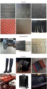 Orginal Zhuda cuir des chaussures de marquage à chaud de la machine, machine à gaufrer supérieure