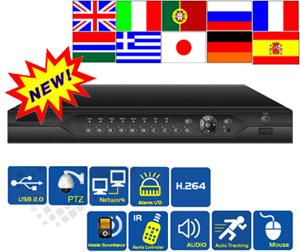 Rete completa DVR (EE3004) di D1 3G