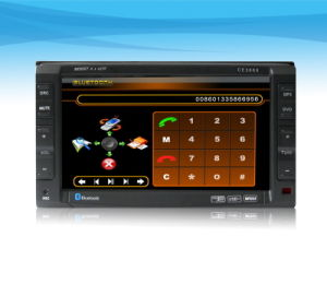 Two Din 6.2 Inch  Motorized Car DVD Player (WINCA)