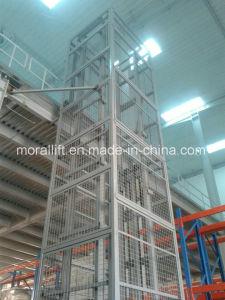 Elevatore di merci verticale idraulico per il sollevamento materiale