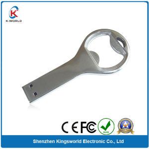 Алюминий 4 ГБ флэш-накопитель USB в форме ключа