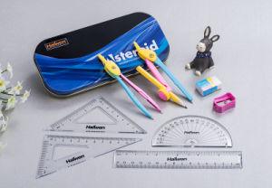 Alibaba 중국 Suppier 나 사춘기 고품질 학교 용품 주석 상자 옥스포드 수학 세트