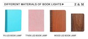 Fördernde Geschenk-Felder Tyvek Buch-Lampe