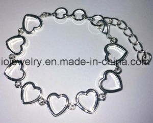 Custom 925 Sterling Silver Bracelete Cardíaca