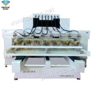 machine à bois populaire avec axe rotatif utilisé pour le bois, l'acrylique Qd-2512R8