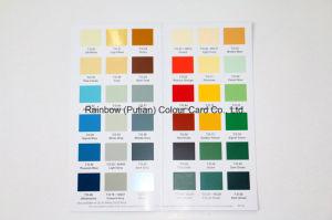 Kaart van de Kleur van het Document van de Kunst van de Kwaliteit van Nice de Waardevolle voor Reclame