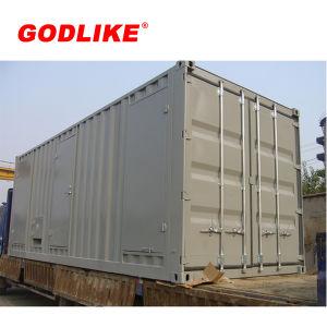 판매 콘테이너 유형 751kVA 601kw Doosan 디젤 엔진 발전기 세트를 위해