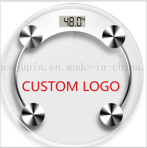 Le logo OEM corps salle de bain balance de pesage de la publicité pour la promotion