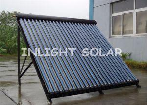 Wärme-Rohr-Sonnenkollektor der Aluminiumlegierung-24tubes
