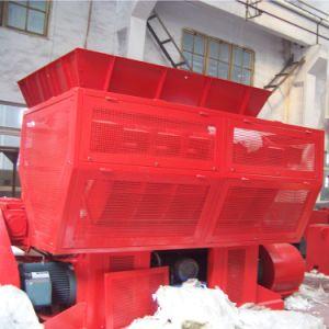 Triturador de plástico do eixo único Shredder Eixo Duplo Shredder de película de plástico rígido de PP sacos de tecido