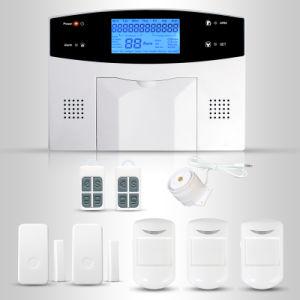 sistema di allarme senza fili di 850/900/1800/1900MHz DIY PSTN+GSM con il funzionamento di Ios+Android APP