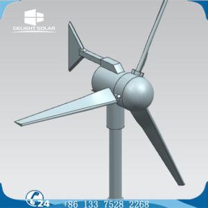 Hors réseau résidentiel/l'agriculture dans le contrôleur intégré 12V Kit génératrice éolienne de petite puissance