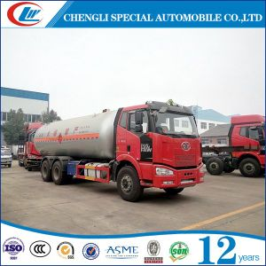 Dongfeng 8X4 35000L veículo rígida de transporte de GPL