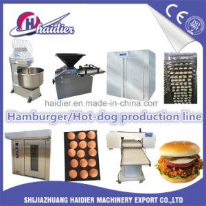Pan de panadería horno giratorio set completo de equipos de la línea de producción
