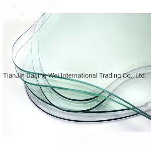 Vidro Toughed 5-12mm Vidro Temperado curvo de vidro transparente de vidro de construção