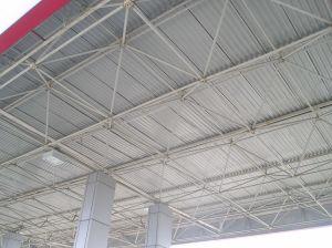 Estructura de rejilla de estructura de acero para techos