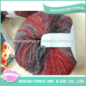 Lado de algodão tricô lenço de Inverno de Fios de lã de fantasia -9
