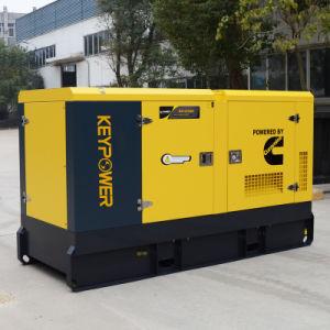 Diesel Generator Vier Cilinders met het Eerste Stille Type van Macht 85kVA