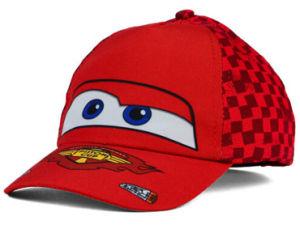 Karikatur-Stickerei-rote Baumwollkind-Baseball-Hüte und Schutzkappen
