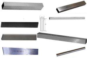 Tour à Bois carré d'outils lame des couteaux du hacheur (A01012)
