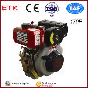 motore diesel 5HP con il silenziatore standard