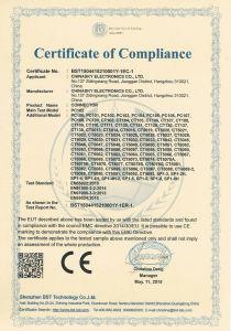 Connettore di cavo coassiale femminile del CCTV BNC per il PWB (CT104)
